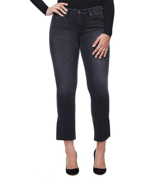 Who What Wear Denim Crop Jeans