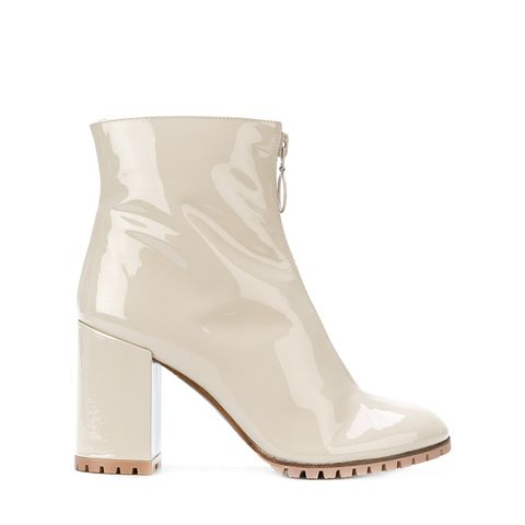 Zipped-Up Ankle Boots