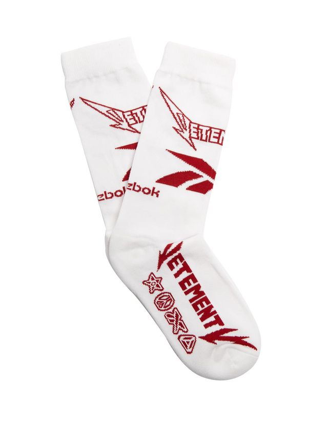 X Reebok Metal cotton-blend socks