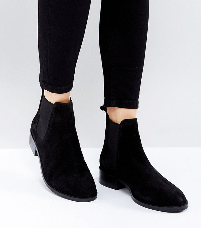 ABSOLUTE Suede Chelsea Ankle Boots