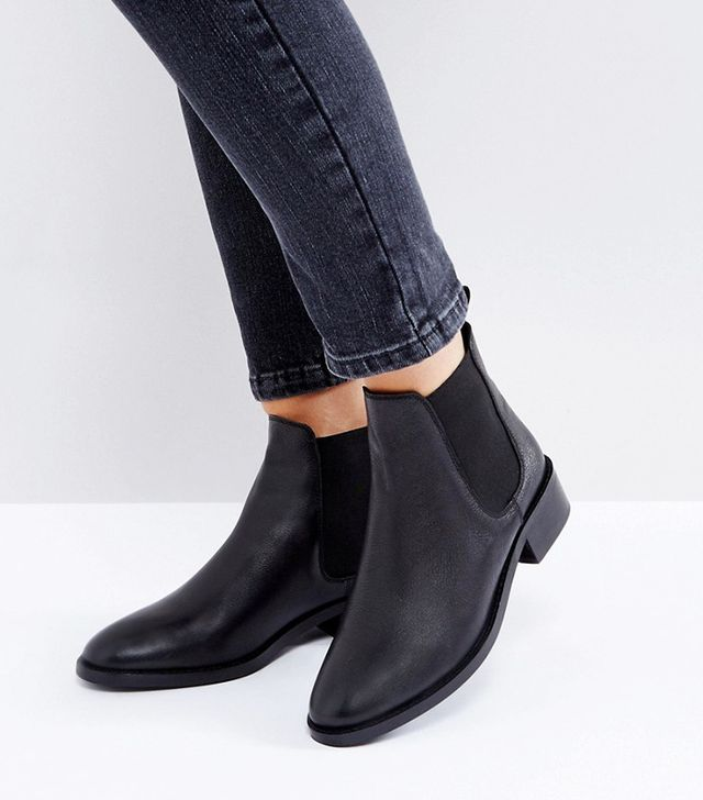 ABSOLUTE Leather Chelsea Ankle Boots
