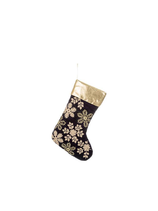 Amara Velvet Embroided Christmas Stocking