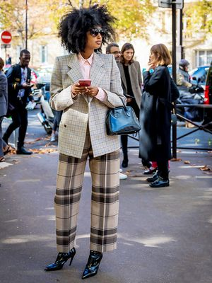 How Fashion Girls Will Be Wearing Plaid This Winter