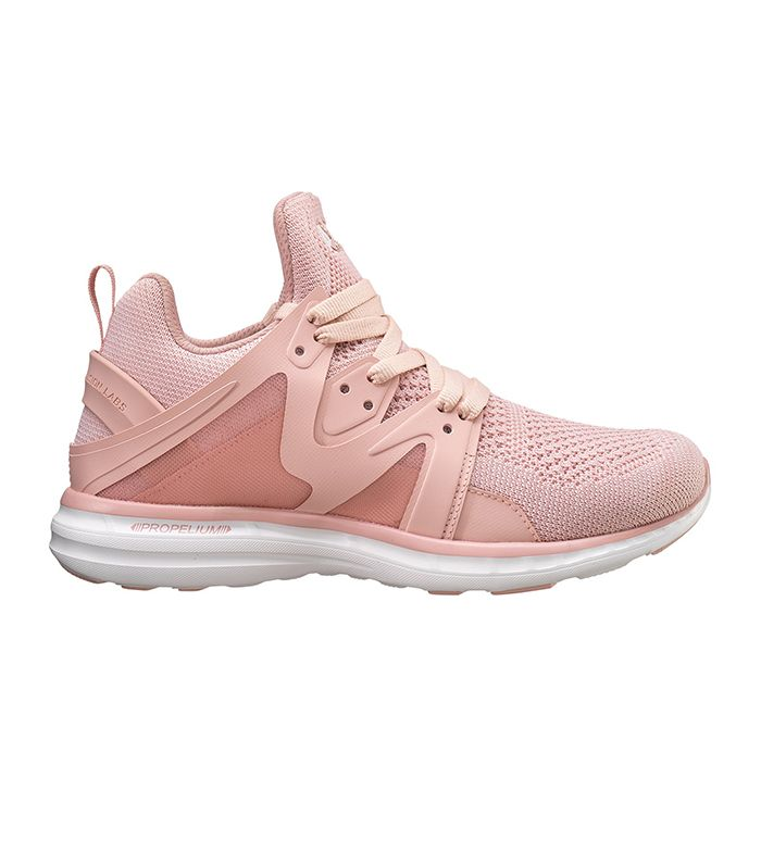 Women's Ascend in Dusty Rose and White by APL