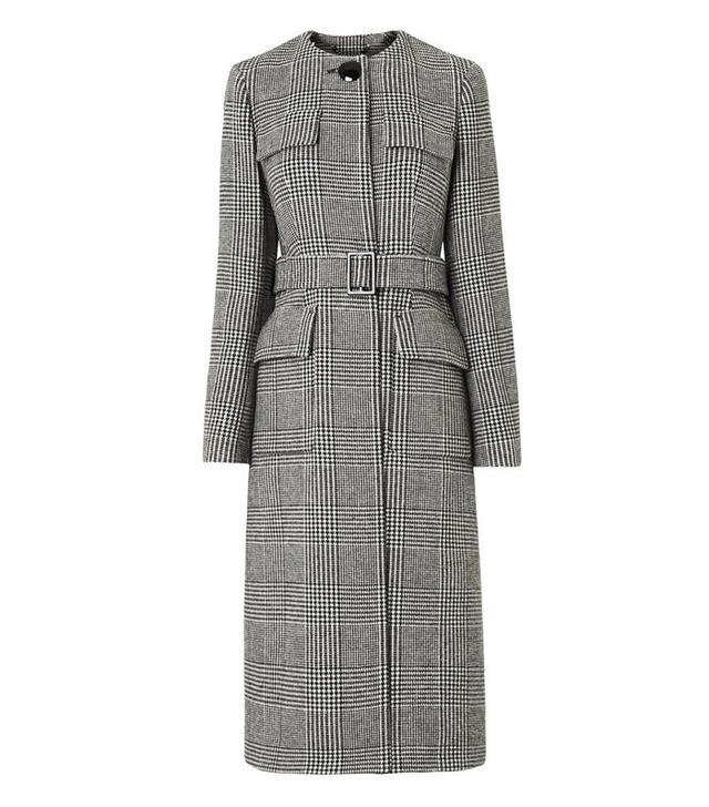 L.K.Bennett Delli Check Coat