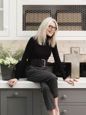 Diane Keaton's Industrial-Chic L.A. Home Is Just as Iconic as She Is