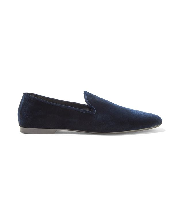 Bray Velvet Loafers