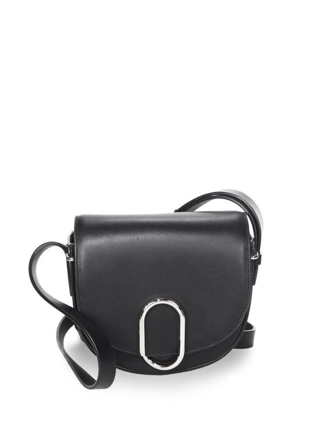 Alix Leather Mini Saddle Bag