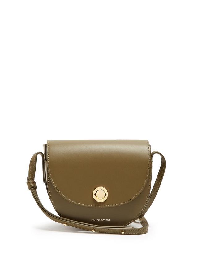 Mini Saddle leather cross-body bag