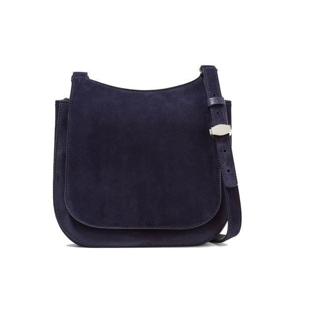 Hunting 7 Suede Shoulder Bag