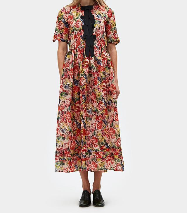 Seneca Silk Maxi Dress