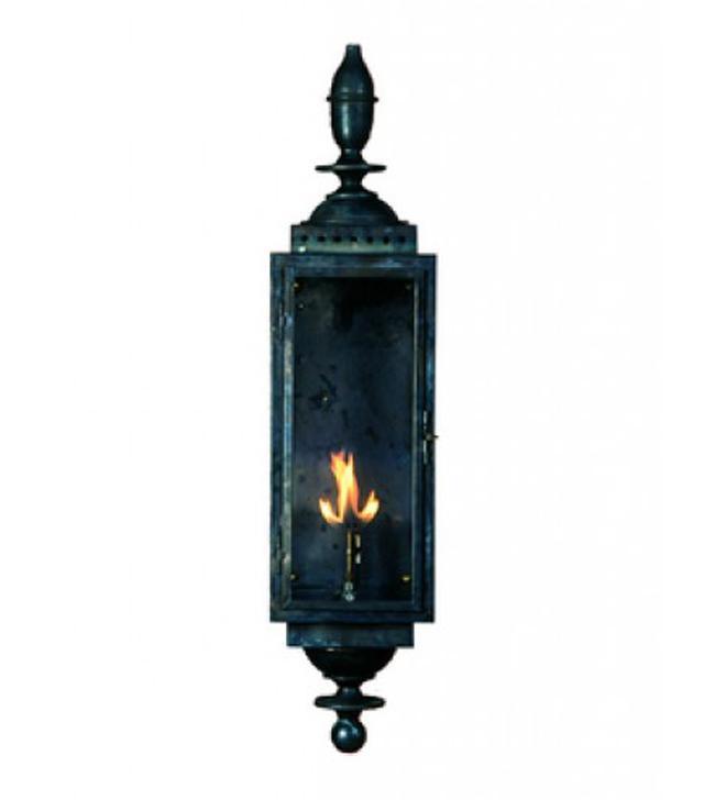 Copper Sculptures Parisian Lantern