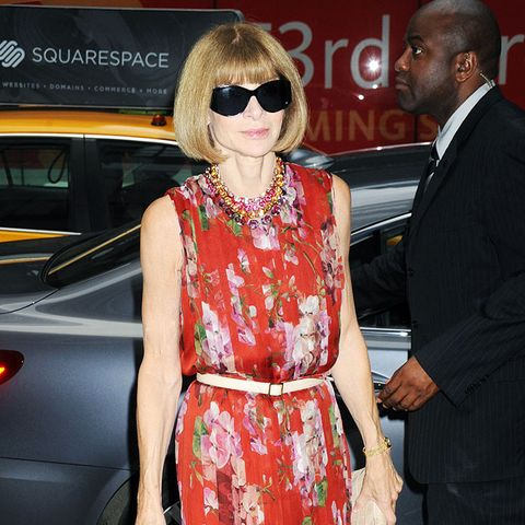 outfit ideas from successful women: Anna Wintour