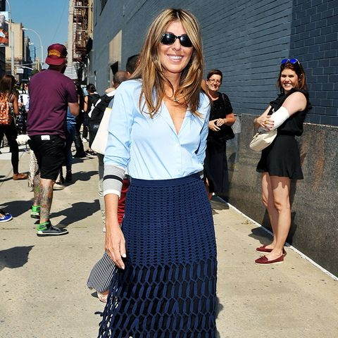 outfit ideas from successful women: Nina Garcia