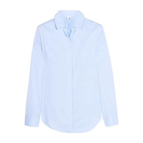 Thea Cotton-Poplin Shirt