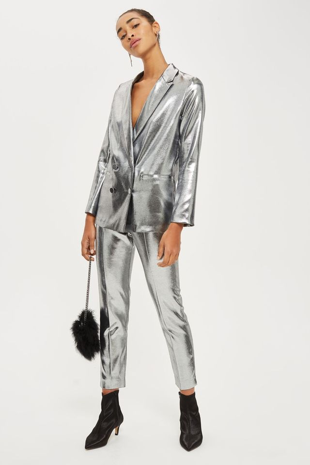 Topshop Metalic Suit