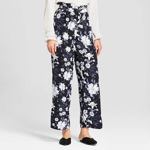 Relaxed Paperbag Trousers