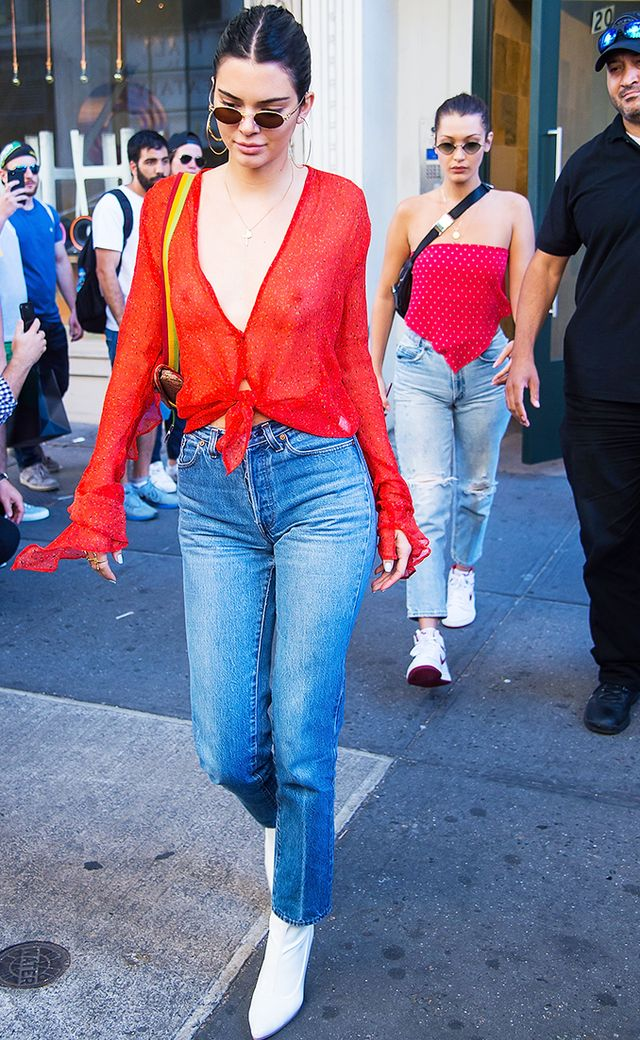 Kendall Jenner Wears Stuart Weitzman Clingy Boots | Who