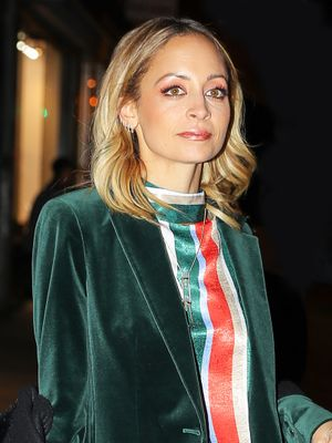 Nicole Richie Found the Cool Girl's Version of the Holiday Party Outfit