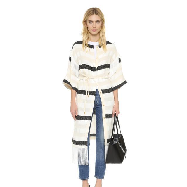 Irene Fringe Coat