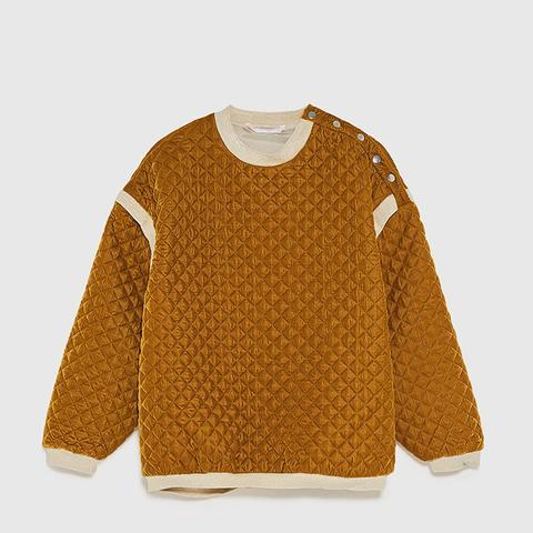 Contrasting Oversized Sweatshirt