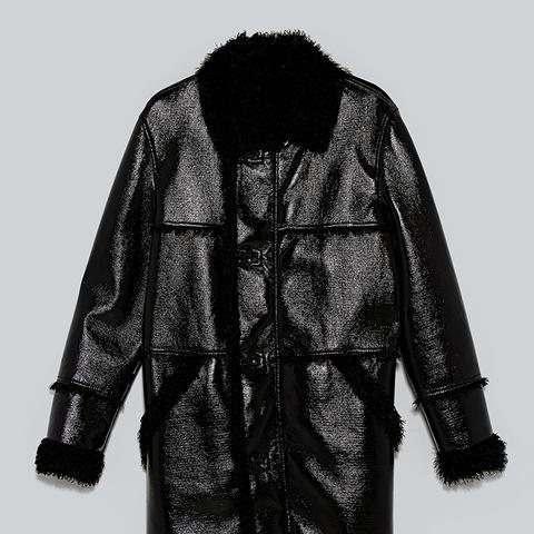 Shiny Double-Sided Coat