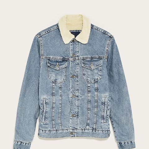 Fleecy Denim Jacket
