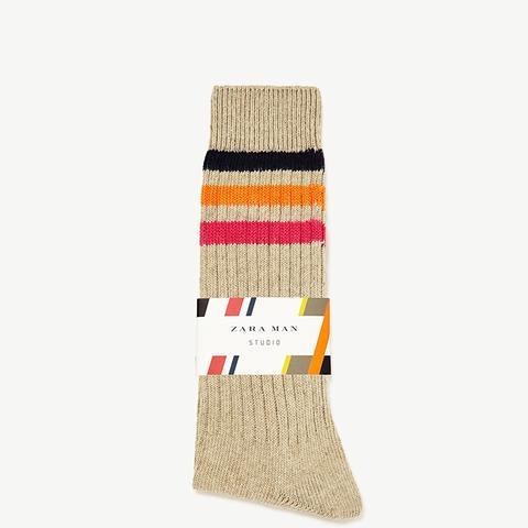 Striped Studio Socks