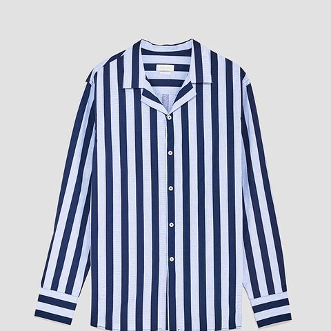 Shirt With Wide Stripes