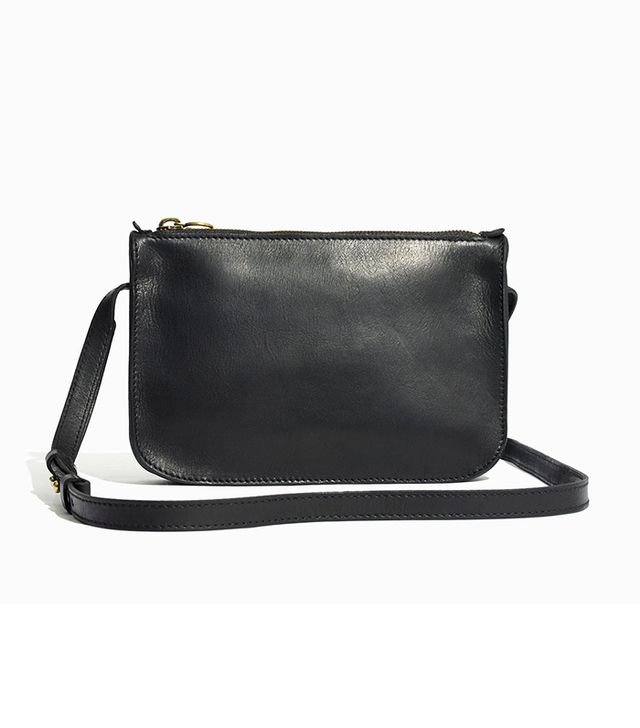 Madewell The Simple Crossbody Bag in True Black