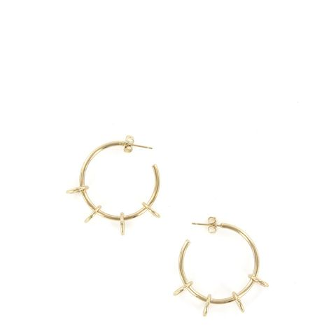 Gold Ada Hoop Earrings