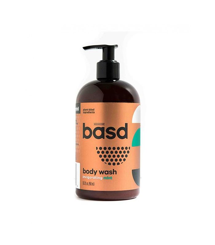 Body Wash in Invigorating Mint by Basd Body Care
