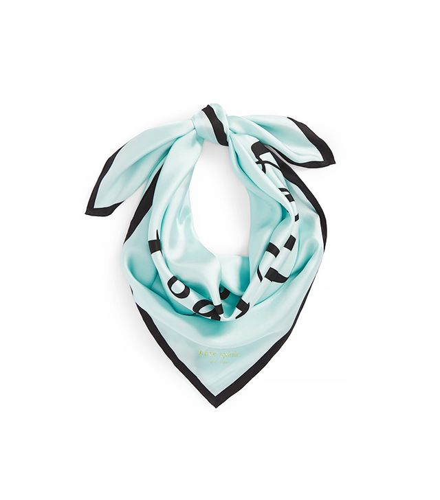 Kate Spade So Happy Together Silk Square Scarf