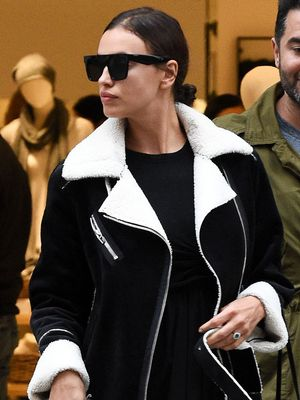 We Want to Live in Irina Shayk's Perfect Under-$150 Jacket