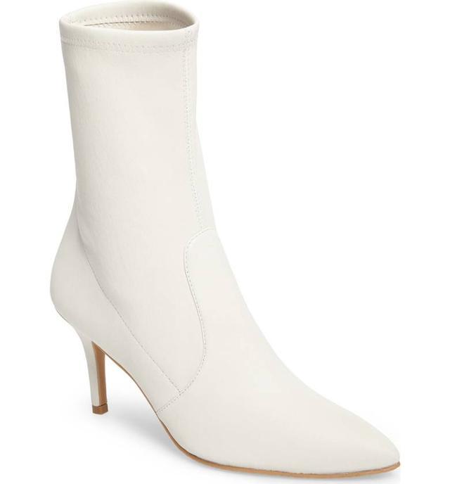 Stuart Weitzman White Boots