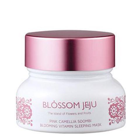 Pink Camellia Soombi Blooming Vitamin Sleeping Mask