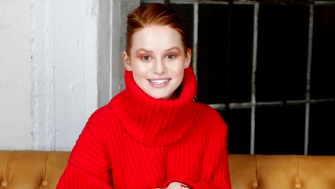 Watch: This $4 Product Is the Only Thing Madelaine Petsch Puts on Her Lips