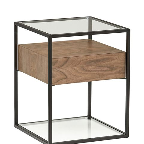 King Street Industrial Floating Side Table