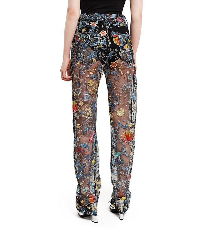Adam SelmanAstro Embroidered Tulle Sheer Jeans($595) Next up, read up on our 2017 Who What Wear Street Style Awardsto find out which women stood out this year.
