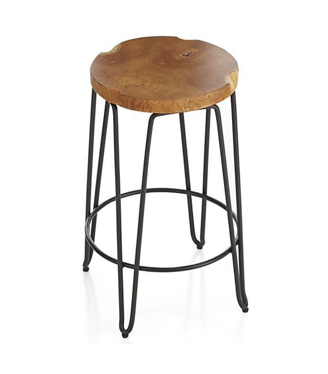 Crate and Barrel Origin Backless Counter Stool