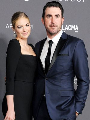 """Kate Upton's """"Naked"""" Reception Gown Was Just as Pretty as Her Wedding Dress"""
