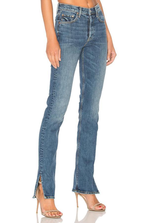 Natalia High-Rise Skinny Split Jean
