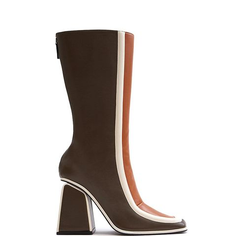 Boot in Cacao/Chili/Antique White