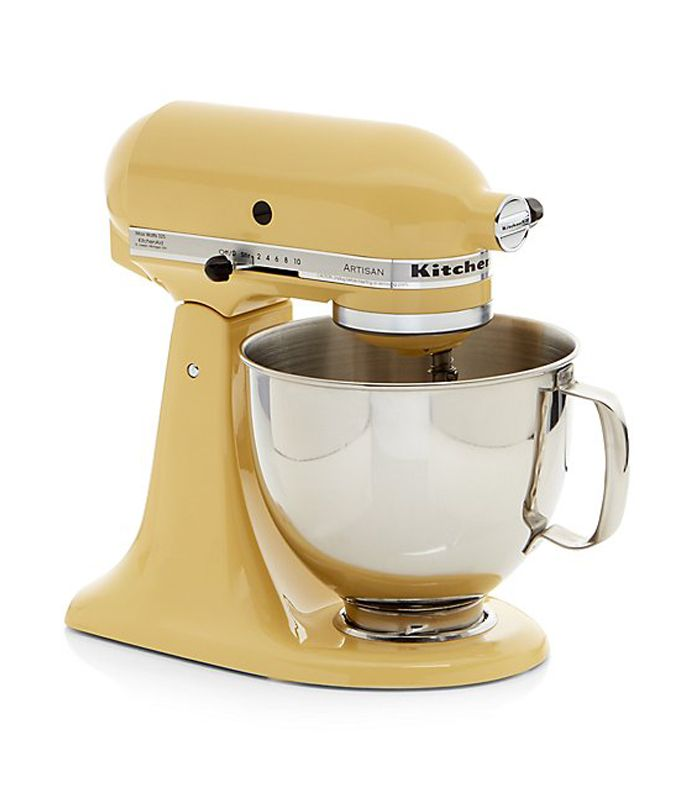 Artisan Majestic Yellow Stand Mixer by KitchenAid