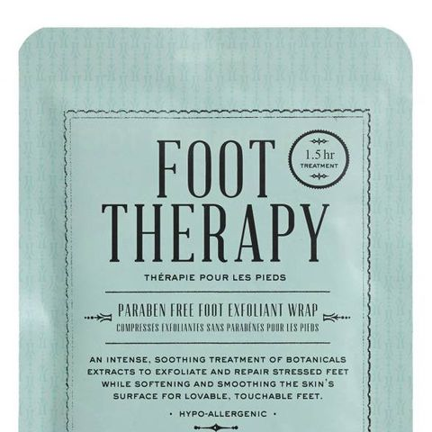 Foot Therapy Foot Exfoliation Wrap