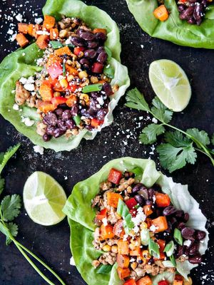 10 Delicious Lettuce Wrap Recipes—No More #SadDeskLunch