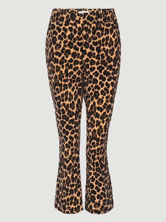 Frame Cheetah Velveteen Flare