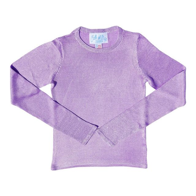 Calle Del Mar Sparkly Lilac Long Sleeve