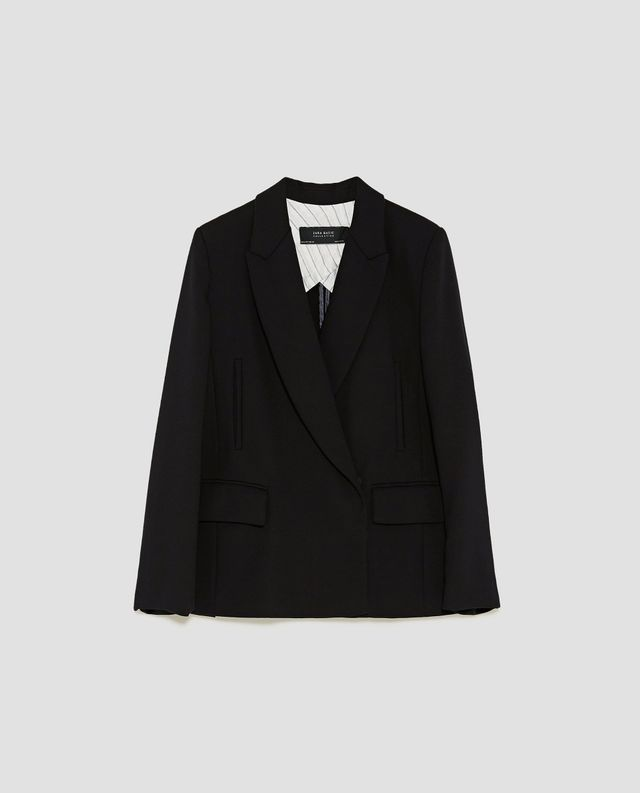 Zara Crossed Blazer