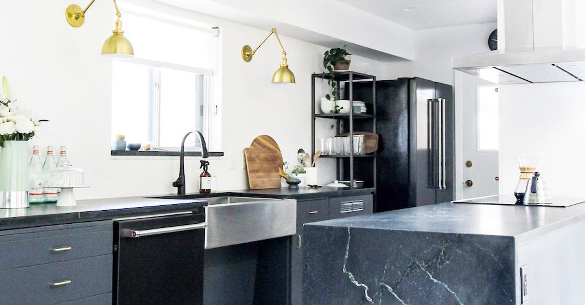 these are the best kitchen cabinet paint colors mydomaine - Kitchen Cabinet Paint Colors